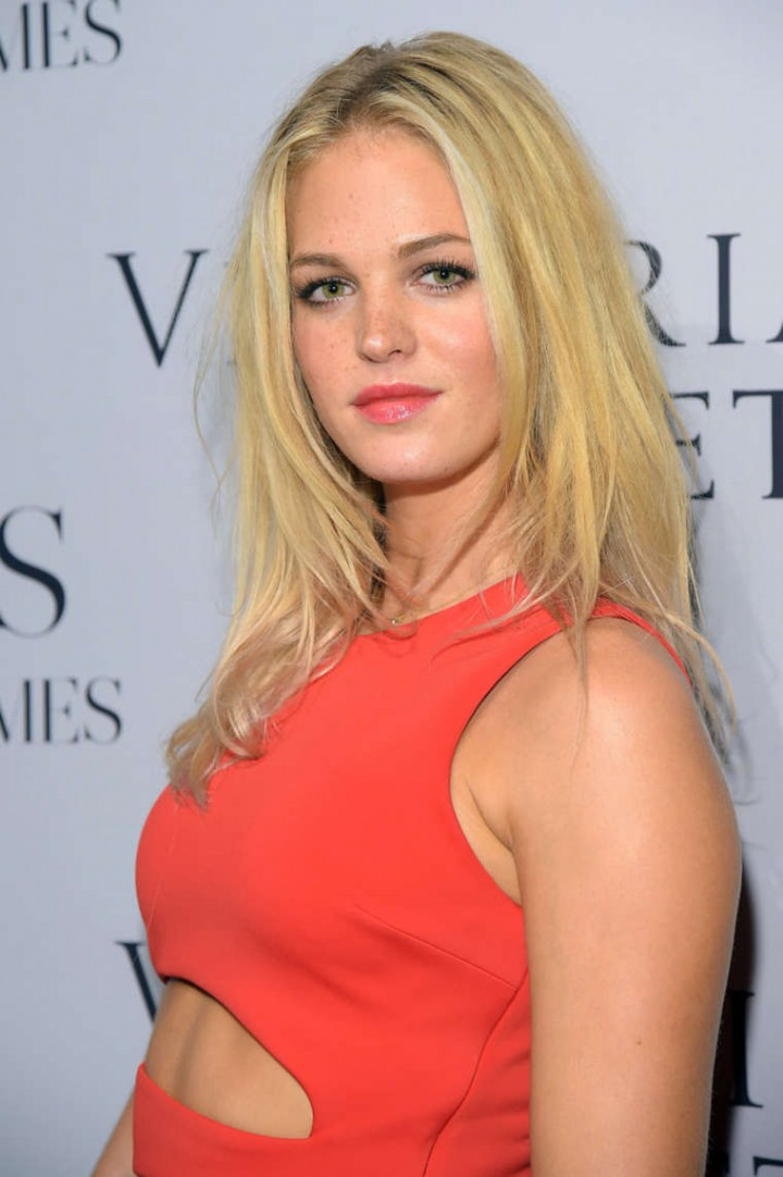 "Erin Heatherton - ""Angels"" by Russell James book launch"