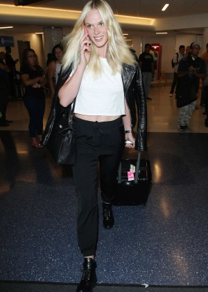Erin Heatherton at LAX -12