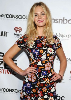 Erin Heatherton - 2014 Global Citizen Festival VIP Lounge in NYC