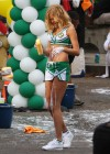 Erin Heatherton - HOT Car wash in cheerleader outfit-01