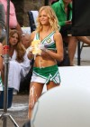 Erin Heatherton - HOT Car wash in cheerleader outfit-09