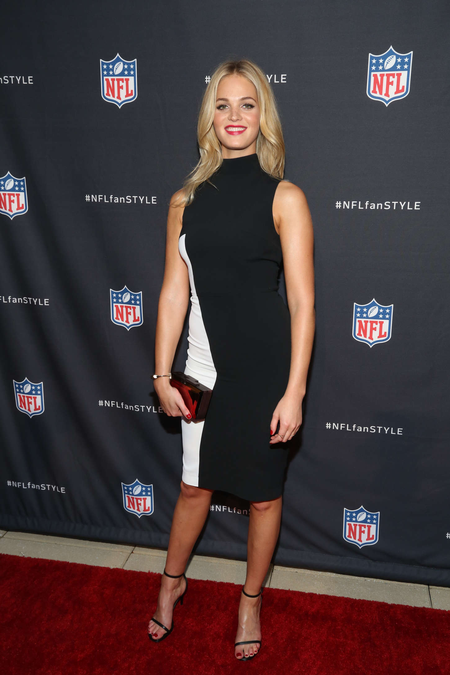 Erin Heatherton - NFL Inaugural Hall of Fashion Launch Event in NYC