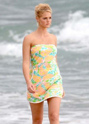 Erin Heatherton by Lilly Pulitzer Photoshoot in Miami Beach