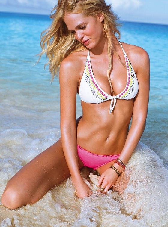 Erin Heatherton - Victoria's Secret Swim 2013 Photoshoot