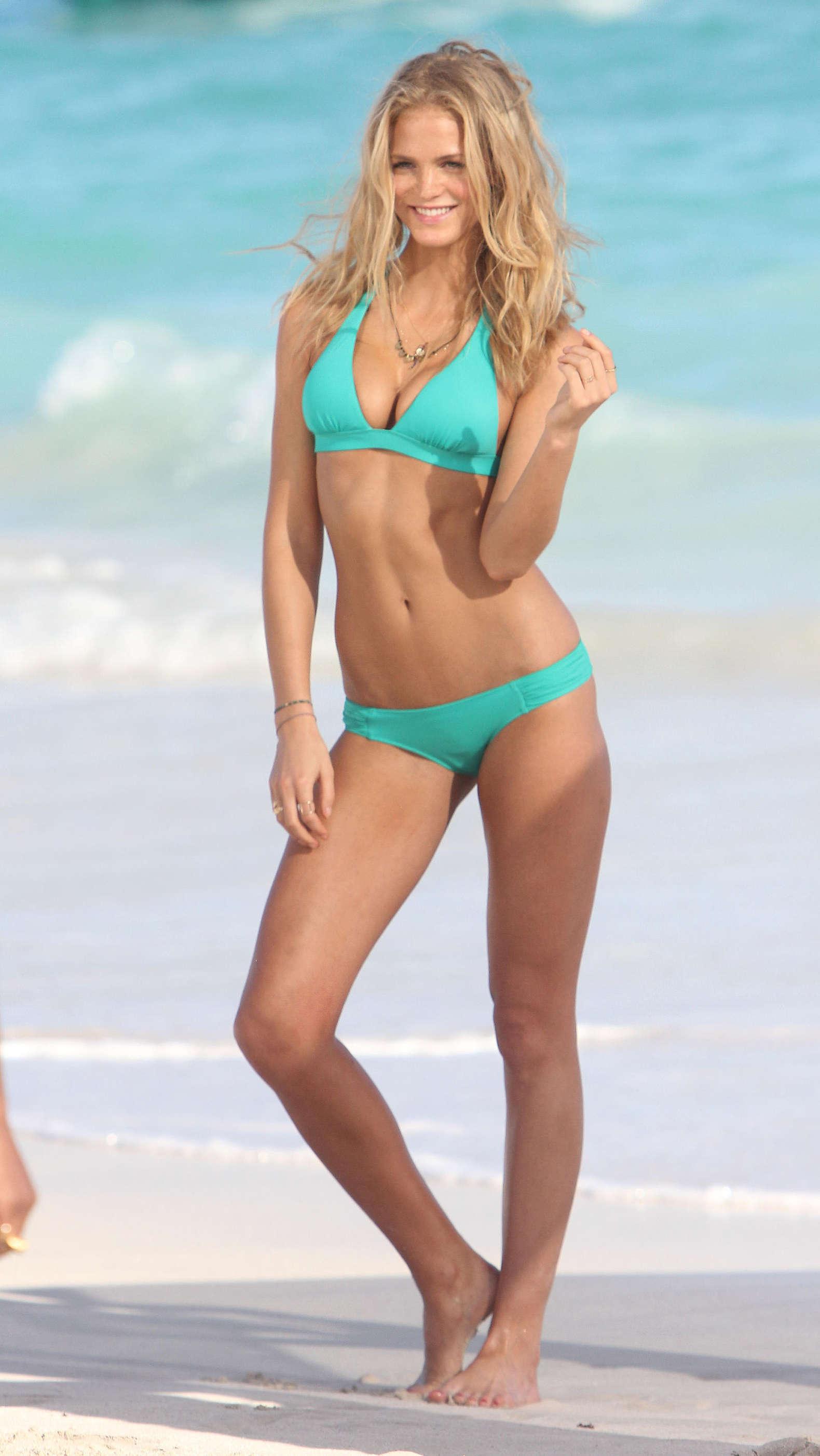 Erin Heatherton - VS 2013 bikini photoshoot in St Barts-02