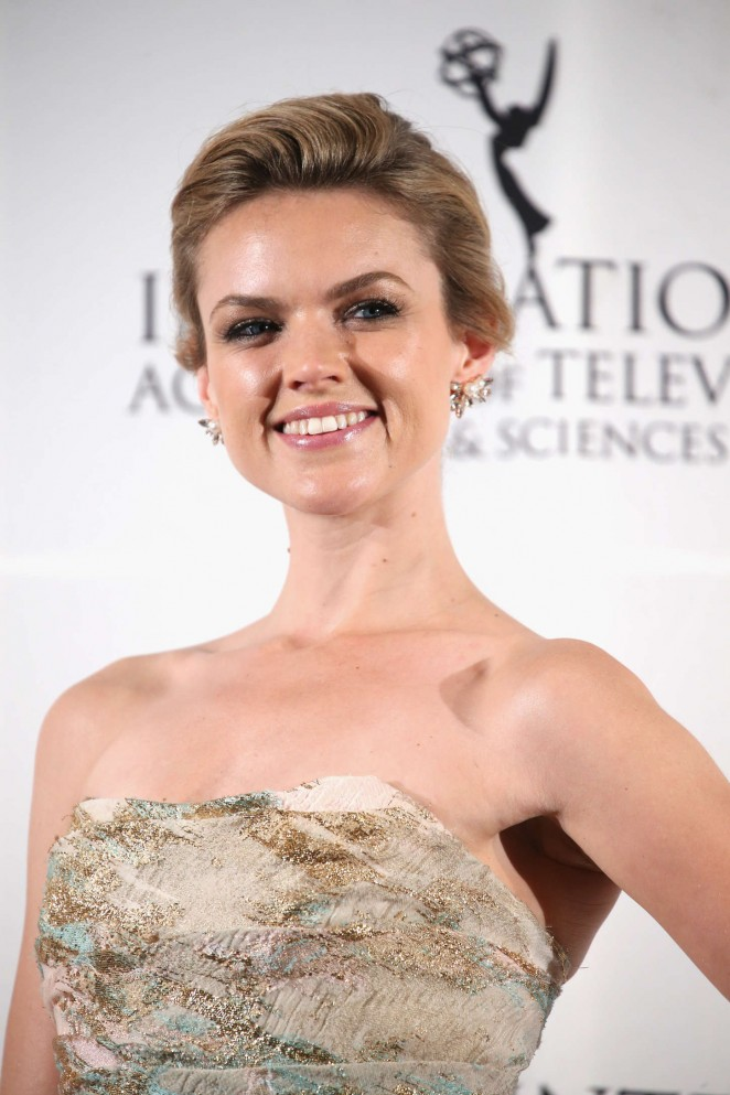 Erin Richards - 2014 International Academy Of Television Arts & Sciences Emmy Awards in NYC