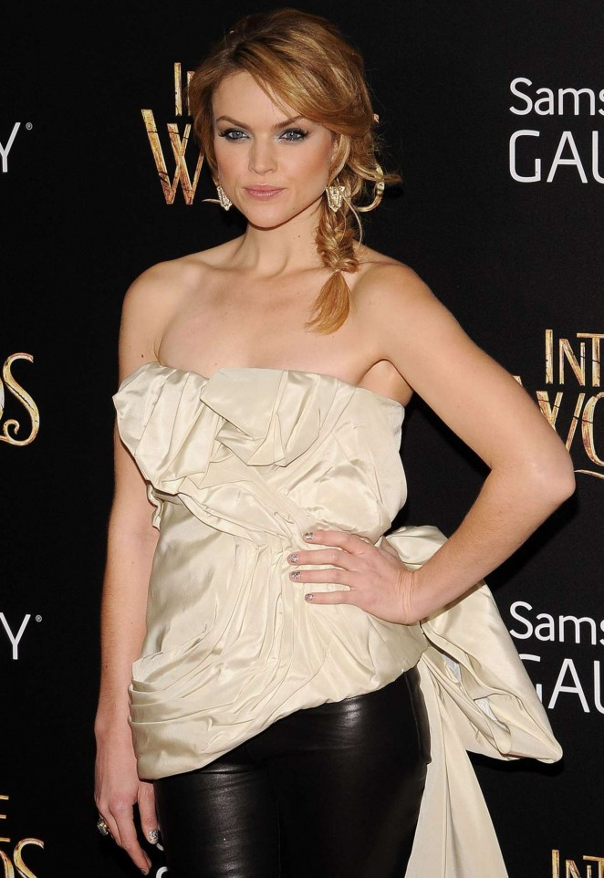 "Erin Richards - ""Into the Woods"" Premiere in New York"