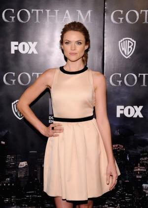 """Erin Richards - """"Gotham"""" Premiere in NYC"""