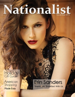 Erin Sanders – Nationalist Magazine (November 2013)
