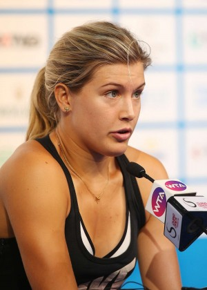 Eugenie Bouchard - 2014 China Open Press Conference in Beijing