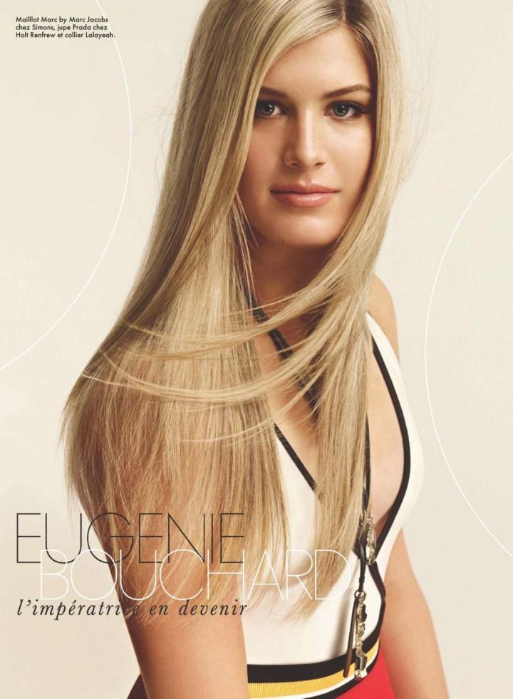 Eugenie Bouchard – ELLE Quebec (August 2014)