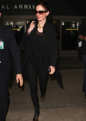 Eva Green at LAX Airport in LA
