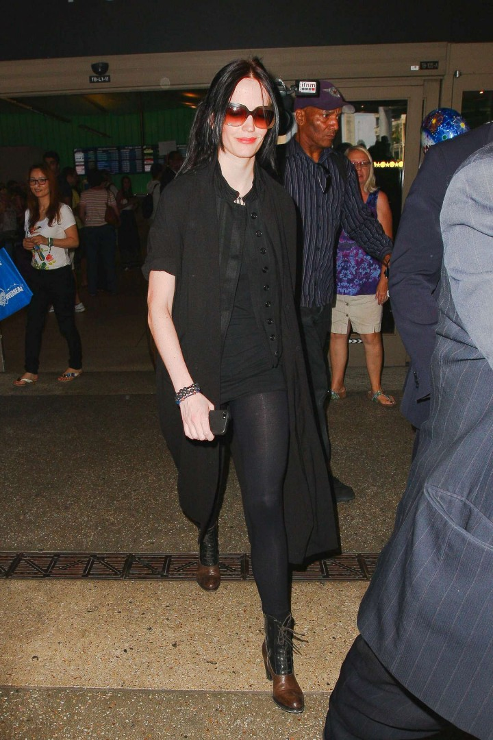 Eva Green - At LAX Airport in Los Angeles