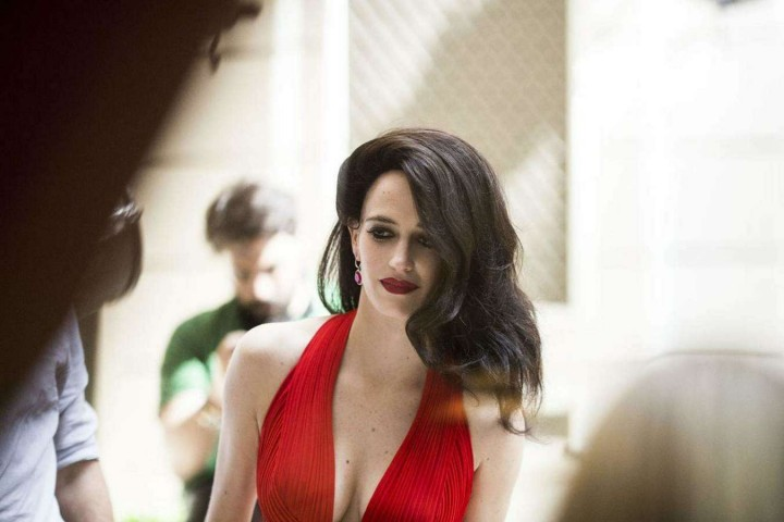 Eva Green Campari Calendar Bts 2015 Photoshoot 13 Gotceleb