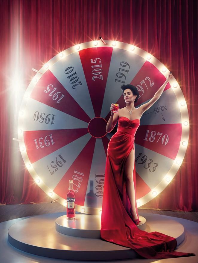Eva Green: Campari Calendar 2015 -02