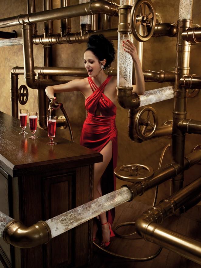 Eva Green: Campari Calendar 2015 -04