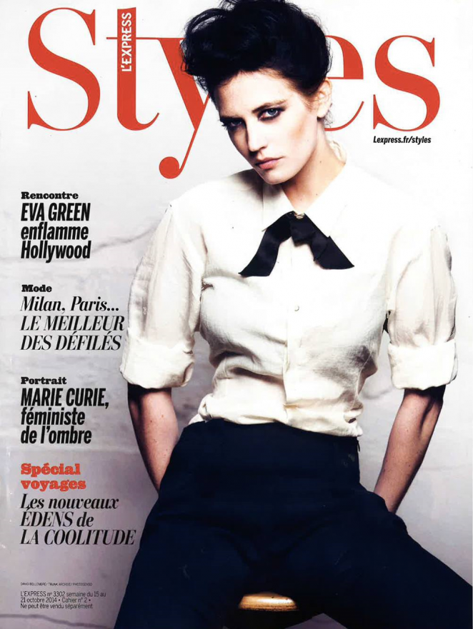 Eva Green - L'Express Styles Magazine (October 2014)