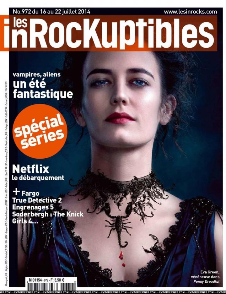 Eva Green - Les Inrocks France Magazine (July 2014)