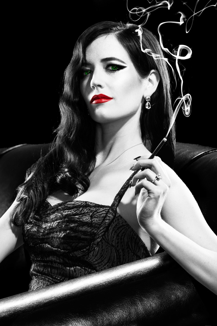 "Eva Green - ""SinCity:A Dame To Kill For"" Promotional Poster & Stills 2014"