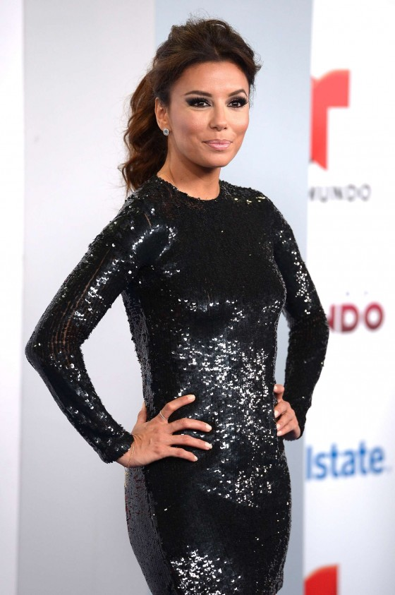 Eva Longoria - 2013 Telemundo Premios Tu Mundo Awards -01