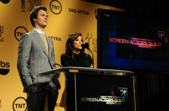 Eva Longoria: 2014 Screen Actors Guild Award Nominations -05
