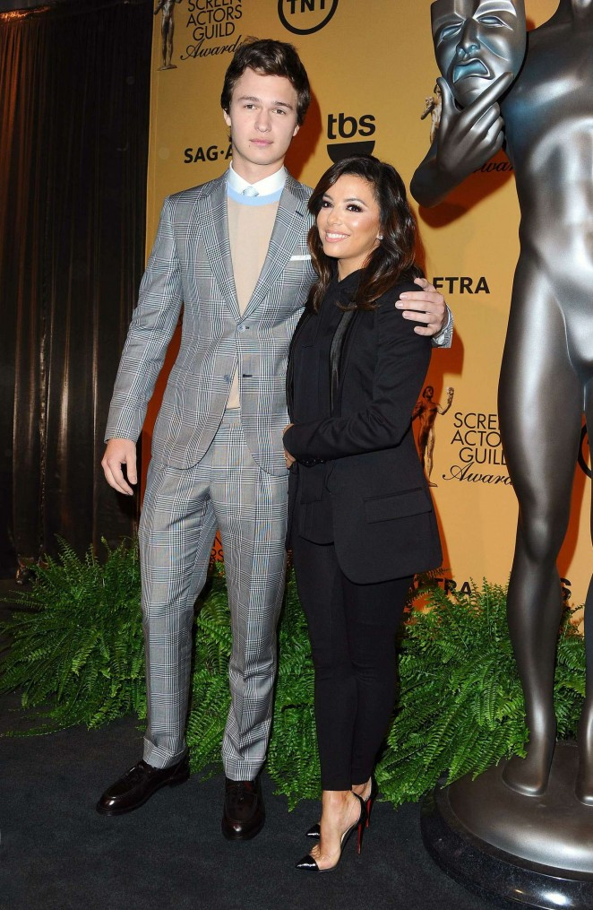 Eva Longoria: 2014 Screen Actors Guild Award Nominations -17