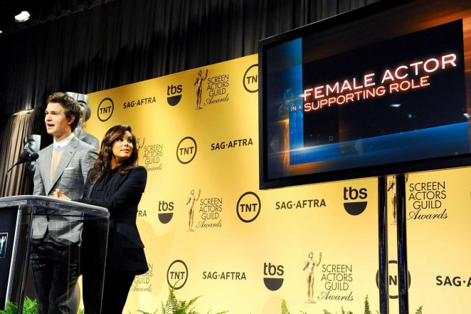 Eva Longoria: 2014 Screen Actors Guild Award Nominations -18