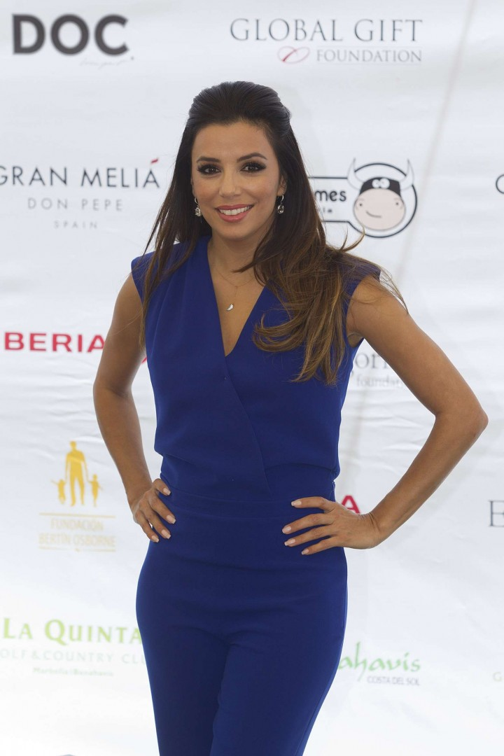 Eva Longoria at 2014 Global Gift Gala Photocall