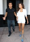Eva Longoria Show Her Long Sexy Legs At Beso Restaurant in Hollywood-04
