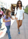 Eva Longoria Show Her Long Sexy Legs At Beso Restaurant in Hollywood-07