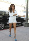 Eva Longoria Show Her Long Sexy Legs At Beso Restaurant in Hollywood-11