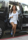 Eva Longoria Show Her Long Sexy Legs At Beso Restaurant in Hollywood-12