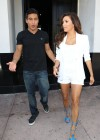 Eva Longoria Show Her Long Sexy Legs At Beso Restaurant in Hollywood-14