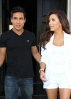 Eva Longoria Show Her Long Sexy Legs At Beso Restaurant in Hollywood-15
