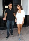 Eva Longoria Show Her Long Sexy Legs At Beso Restaurant in Hollywood-16