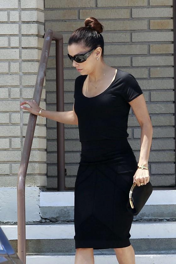 Eva Longoria at La Mirada in Los Angeles -01