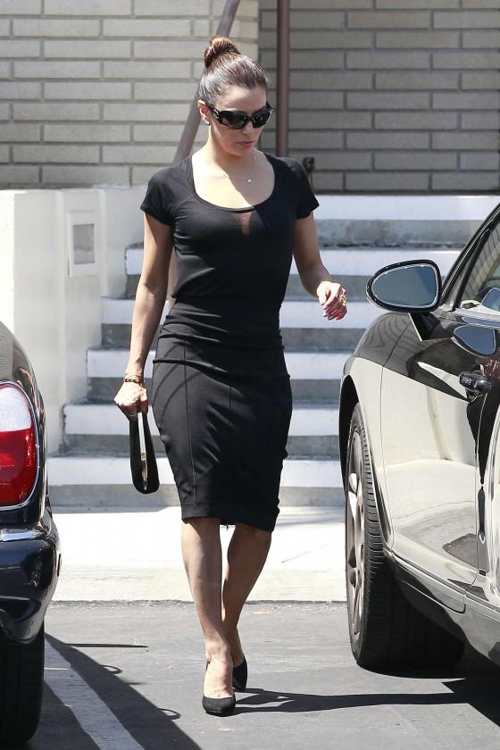 Eva Longoria at La Mirada in Los Angeles -13