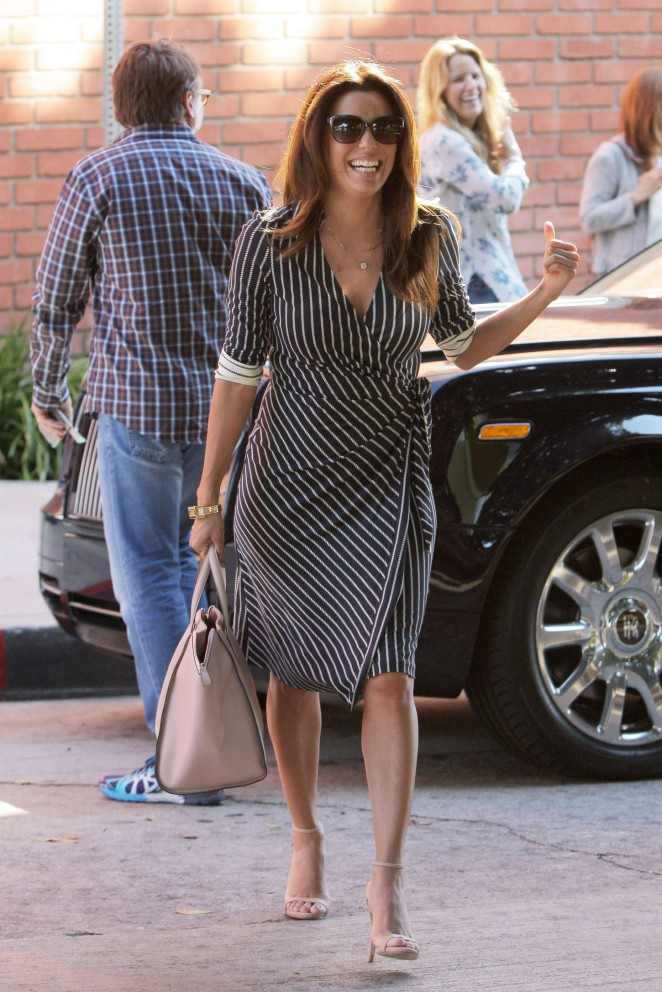 Eva Longoria at Mr Chow in Beverly Hills