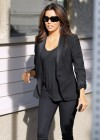 Eva Longoria Leaving Ken Paves Salon-03