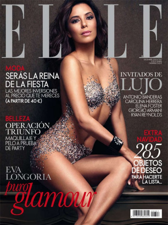Eva Longoria: Elle Spain Cover 2013 -01