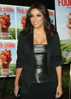"Eva Longoria - ""Food Chains"" Premiere in New York"