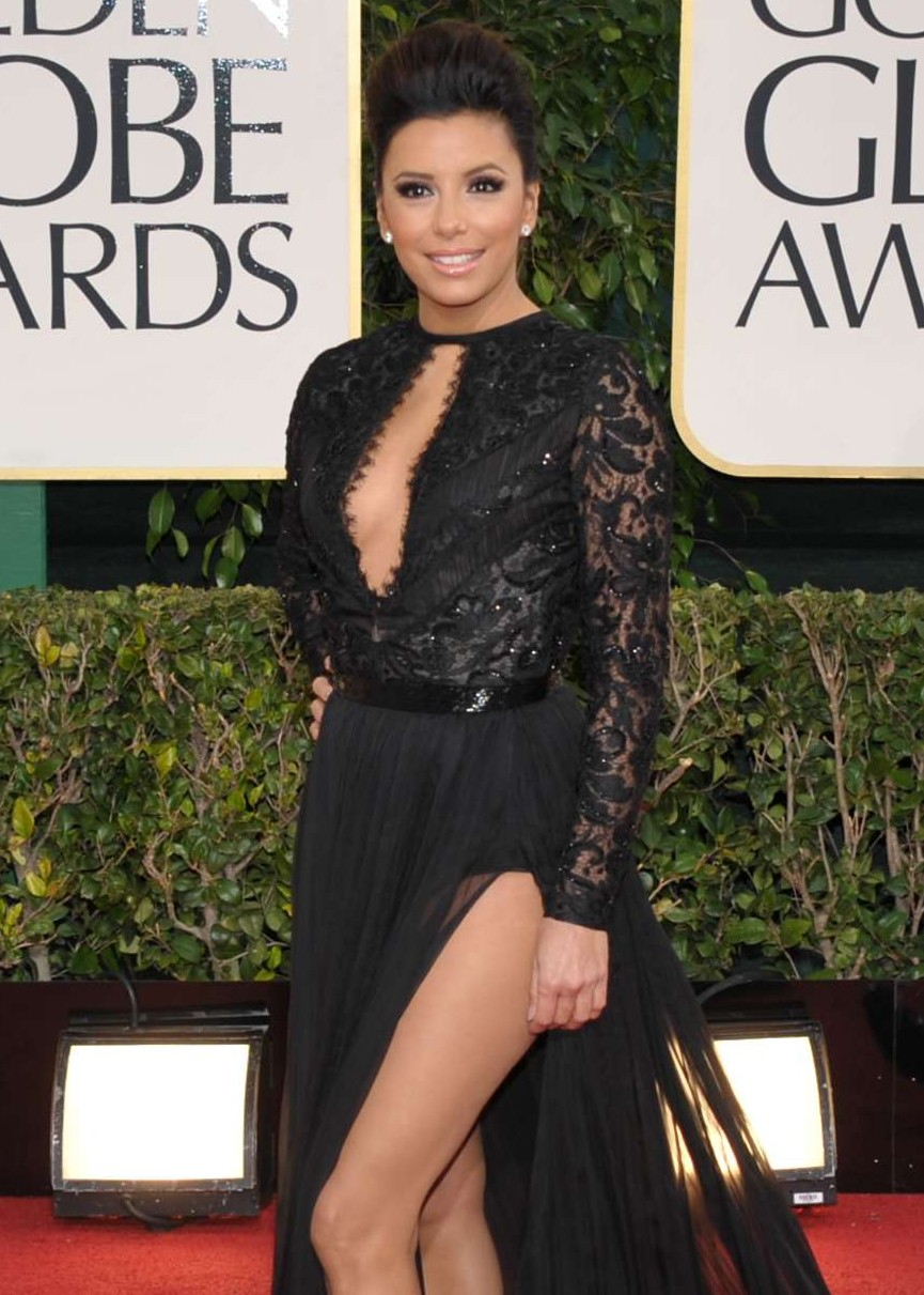 Eva Longoria - Golden Globe Awards 2013