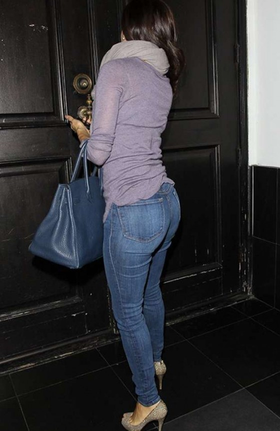 Eva Longoria at Beso in Hollywood 1/23/13
