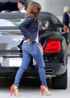 Eva Longoria In Jeans out in LA-13