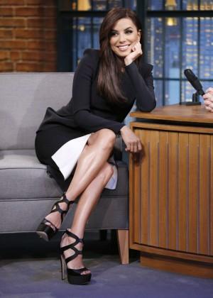 Eva Longoria - Late Night with Seth Meyers in NY