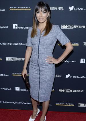 Eva Longoria: Paycheck to Paycheck Premiere -01
