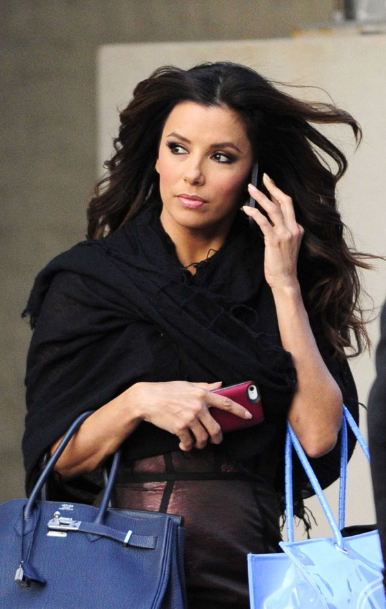 Eva Longoria – Shopping Candids in New York-01