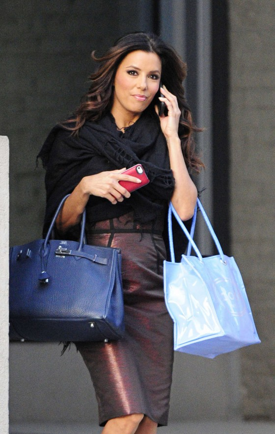 Eva Longoria – Shopping Candids in New York-07