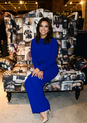 Eva Longoria Visits Marina Interiors Furniture Store in Dubai