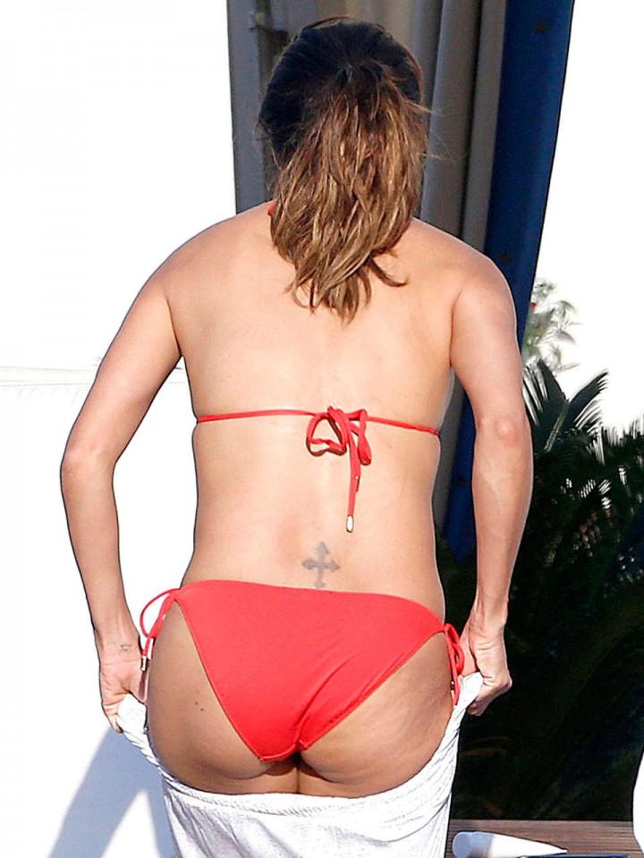 Eva Longoria bikini in Capri-01